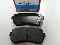 Колодка тормозная задняя (диск) I30 07-/ Pride/IX35 09-/Sonata YF/Sportage/Forte SP1187/SPK3035
